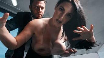 Angela White in 'Strangers on a Plane'